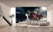 Street Racing Start Wall Mural Photo Wallpaper GIANT DECOR Paper Poster