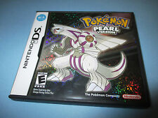 Pokemon Pearl Version (Nintendo DS) Lite DSi XL 3DS 2DS w/Case & Manual
