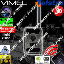 3G Trail Camera Hunting Security Farm GSM Remore Monitoring Scout Night Vision