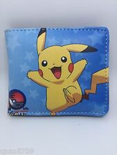 Pokemon Pikachu men's Bifold wallet PU Leather Purses WALLET