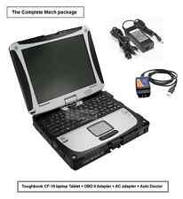 TOUGHBOOK CF-19 Laptop for Mechanic Diagnostic Repair Shop OBD II 2 scanner car
