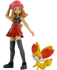 Takara Tomy Pokemon Monster Collection Serena & Fennekin Set