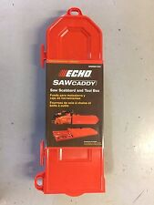 New OEM Echo 99988801900 Chainsaw Bar Cover Scabbard ToolBox Saw Caddy up to 20""