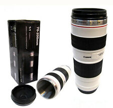 Fashion Caniam Series Lens EF 1:1 70-200mm F/4 Coffee Mug Cup DC62 Black & White