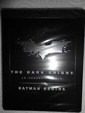 DARK KNIGHT & BATMAN BEGINS STEELBOOK LIMITED - OOP BRAND NEW FACTORY SEALED