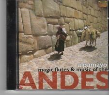 (FX409) Magic Flutes & Music From The Andes - 2002 CD