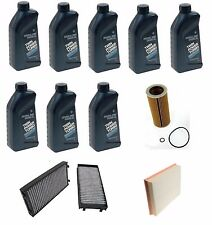 BMW e70 x5 xDrive 35d 2009-13 Oil Air Pollen Filter Service 5W-30 Synthetic zEp