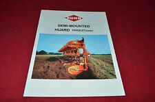 Kuhn Semi Mounted Haurd Plow Ploughs Dealers Brochure LCOH