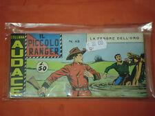 PICCOLO RANGER 7° SERIE N°43 -DEL 1968- STRISCIA -COLLANA AUDACE-araldo +altre a