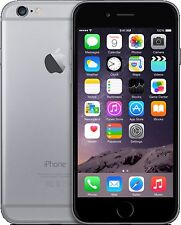 APPLE IPHONE 6 16GB GREY BLACK SIM FREE UNLOCKED SMARTPHONE GRADE A