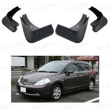 4Pcs Mud Flaps Splash Guard Fender Mudguard for Nissan Tiida Versa 2004-2012 C11