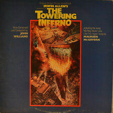 "OST - SOUNDTRACK - THE TOWERING INFERNO - JOHN WILLIAMS  12"" LP (L900)"
