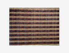 "27x20"" Oxblood Stripe Grill Cloth For Fender 57 Deluxe Cabinet"