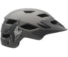 Bell Sidetrack Youth Boys Helmet Stoker Style 50-57cms Matt Titanium Shark