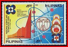 PHILIPPINES 1989 science & technology  SC#2003-04 MNH leonardo (B13)