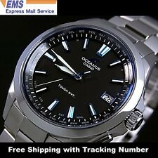 CASIO OCEANUS OCW-S100-1AJF Titanium Solar Radio Multiband6 Men's Watch Japan FS