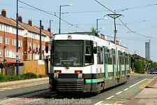 Manchester Metrolink 2005 Eccles New Road Tram Photo Ref P456