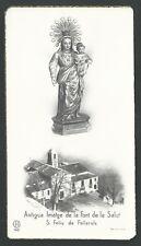 Estampa antigua Virgen de la fuente de la Salud andachtsbild santino holy card