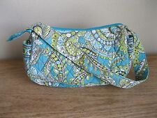 "Vera Bradley 'Peacock' ""Maggie"" Hobo Shoulder Bag Small Green Turquoise"