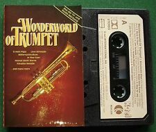 Wonderworld of Trumpet inc O Mein Papa & Love Serenade + Cassette Tape - TESTED