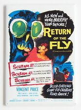 Return of the Fly FRIDGE MAGNET (2 x 3 inches) movie poster Vincent Price