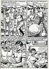 FINALE DE COUPE FOOTBALL (ROBERT HUGUES) PLANCHE ORIGINALE PILAR SANTOS PAGE 9