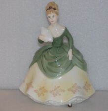 "ROYAL DOULTON Bone China SOIREE HN 2312 Elegant Lady Figurine 7.5"" Vintage"
