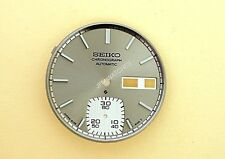 NEW SEIKO SILVER DIAL FOR 6139 6100 CHRONOGRAPH WATCH NR#217