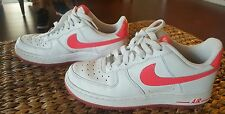 Nike Air Force 1 LE Low - Womens Basketball Sneakers White/Pink 6.5