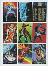 1992 Marvel Masterpieces trading card singles,  3 for $2.95, NM/M