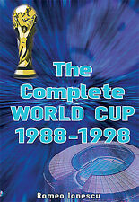 The Complete World Cup 1988-1998 - FIFA Football Soccer Full Statistics book