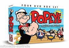 POPEYE THE SAILOR MAN ULTIMATE CARTOONS CLASSICS COLLECTION BOXSET NEW 4 DVD R4