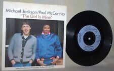 "The Beatles-Paul McCartney & Michael Jackson-45 RPM-7""-Epic-""The Girl is Mine""#2"