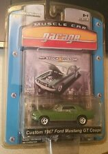 CUSTOM 1967 FORD MUSTANG GT     Series 7 GREENLIGHT MUSCLE CAR GARAGE   1:64