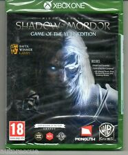 Middle-Earth Shadow Of Mordor Game of the Year   'New & Sealed' *XBOX ONE (1)*