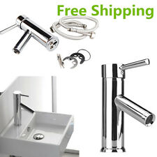 High Quality Chrome Brass Bathroom Taps Faucet Basin Sink Mixer Singlever SM