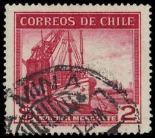 "CHILE 225 (Mi316) - Mercantile Marine Vessels ""1943 Printing"" (pa75690)"