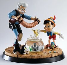 Border Disney Geppetto and Pinocchio A Moment In Time Limited Ed B1568 UK Made