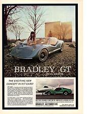 1973 BRADLEY GT  -  VW IN DISGUISE  ~  NICE ORIGINAL KIT CAR AD