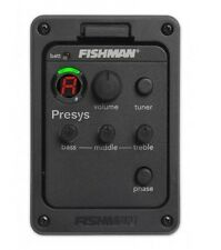 FISHMAN PRESYS/AERO 101 Guitar Preamp EQ Tuner Piezo Pickup Equalizer System