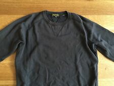 Levis Vintage Clothing LVC Mens Black 1950s Crew Sweatshirt S Small Kanye West
