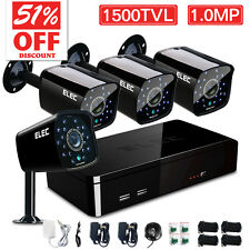 ELEC® 8CH 960H HDMI DVR 1500TVL Outdoor CCTV Security Camera System Surveillance