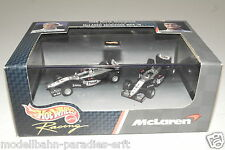 "Hot Wheels 1:64 MLaren Mercedes MP4-14 No1 + 2 ""Hakkinen + Coulthard"" OVP(E7320)"