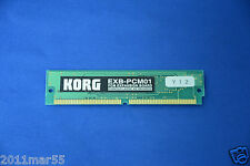 Korg EXB-PCM01 Piano and Keys 16MB PCM Expansion Board free shipping Triton