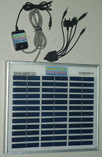 Solar Tablet PC Charger with 12V 4W Rugged Indian Solar Panel & Hi-power Adaptor