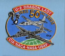 SKUNKWORKS LOCKHEED U-2 DRAGONLADY 50th USAF CIA NASA SPY PLANE Squadron Patch