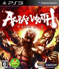 Used PS3 Asura's Wrath SONY PLAYSTATION 3 JAPAN JP JAPANESE JAPONAIS IMPORT