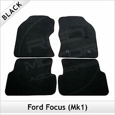 Ford Focus Estate Mk1 1998-2005 Tailored Fitted Carpet Car Floor Mats BLACK