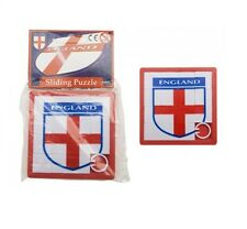 Angleterre st george cross football badge coulissant tile puzzle new & sealed england