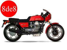Moto Guzzi 850 Le Mans / Le Mans II - Workshop Manual on CD (in German)